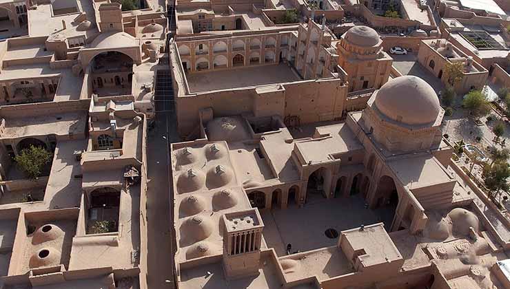 La ciudad de Yazd es un ejemplo de sustentabilidad y adaptación a un clima extremo (Foto: unesco.org).