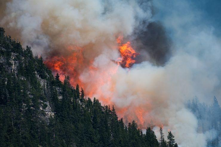 Canada en llamas