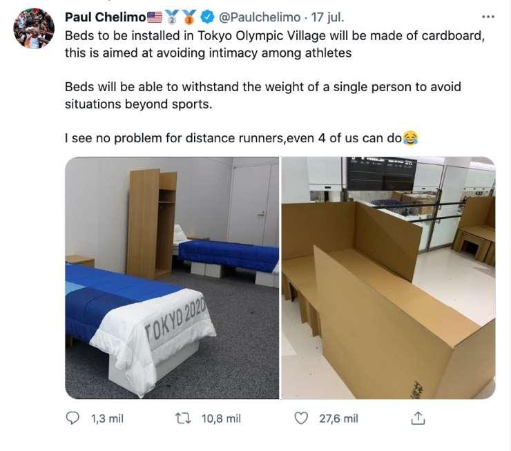 Twitter Paul Chelimo